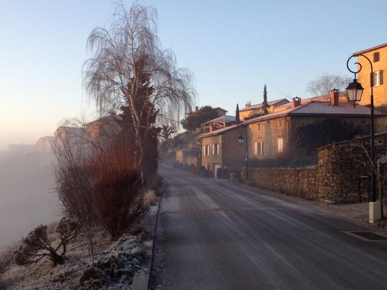 Oingt brouillard